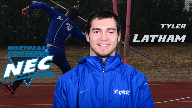 Latham Tabbed NEC Rookie of the Week