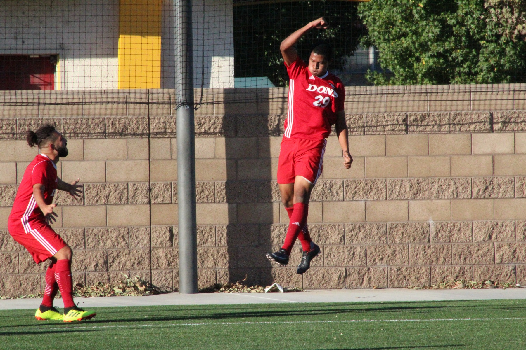 Hurtado Scores Two as the Dons Defeat the Hawks 3-1