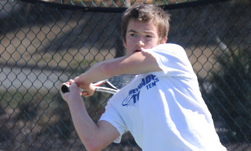 Sam MacNeil went a perfect 9-0 in SAC singles action in 2011