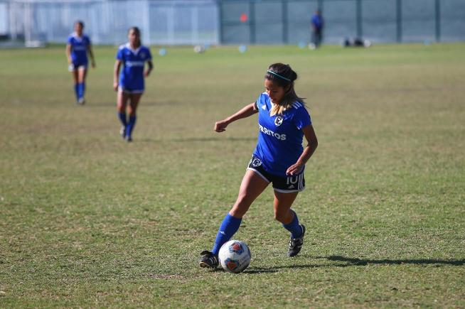 File Photo: Maria Hernandez scored once for the Falcons