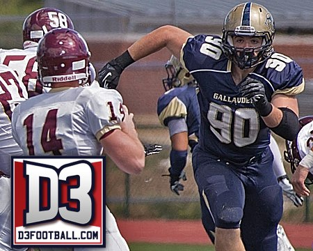 Talaat named to D3football.com All-East Region Second Team Defense