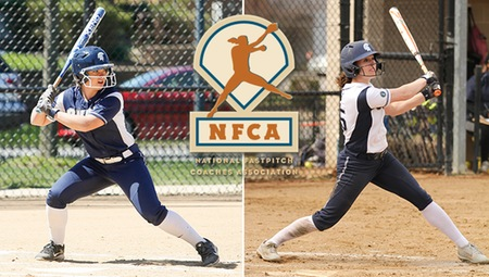 Nicole Doyle & Annie Wennerberg of CWRU Earn All-Region Honors from NFCA