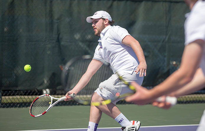 Men's tennis concludes Spring Break trip with loss against regionally-ranked Post