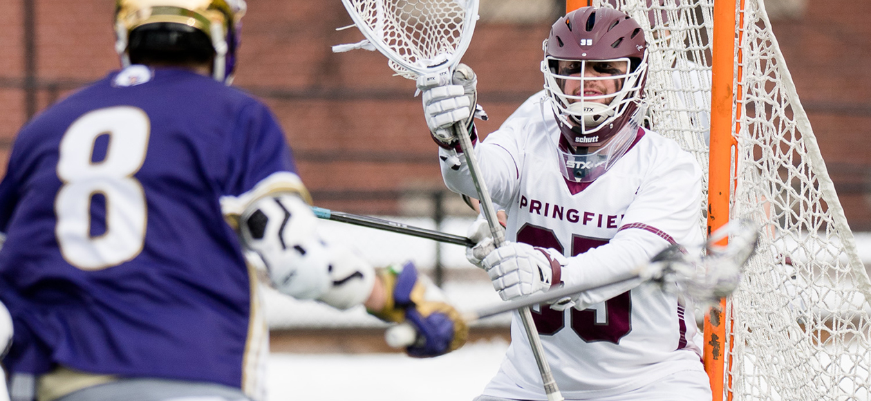 Men's Lacrosse Drops 9-5 Decision to Babson in NEWMAC Play