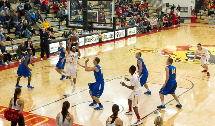 Ferris State Takes League Leader Lake Superior State To Wire In Close Setback