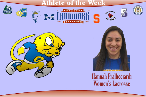Landmark Goes With Frallicciardi as Top Defensive Performer