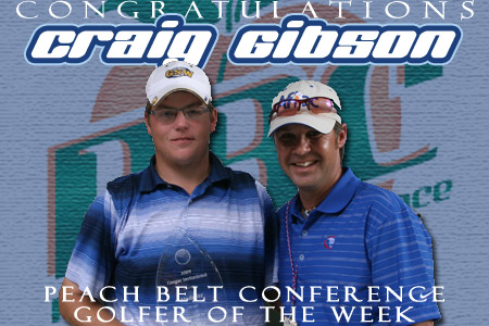 Gibson receives PBC honors