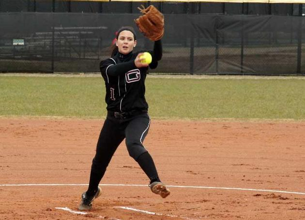 Guilford's Pastor Throws Perfect Game in ODAC Softball Sweep at Sweet Briar