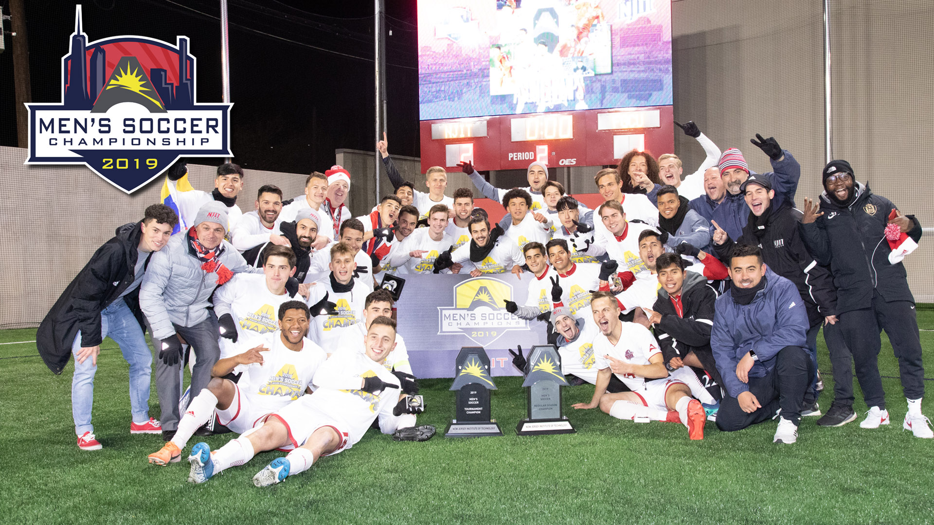 NJIT Secures First Men's @ASUNSoccer Championship Title