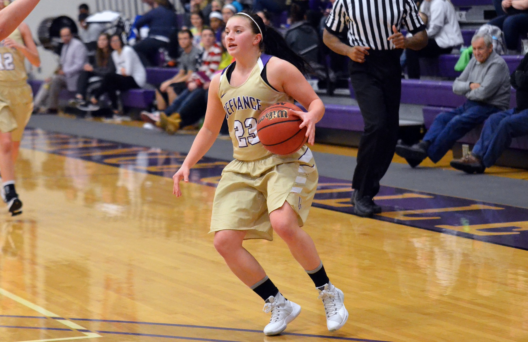 Defiance Downed In 75-47 Loss to Albion