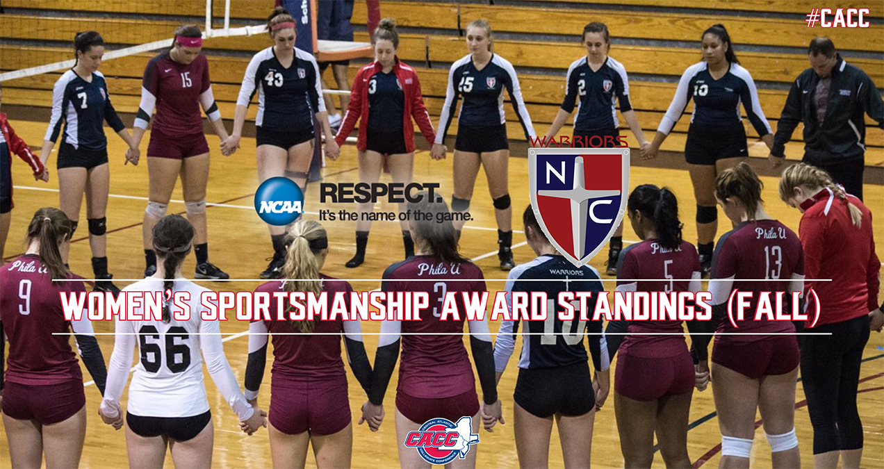 Nyack Tops Current Standings for 2017-18 CACC Women's Team Sportsmanship Award After Fall Season