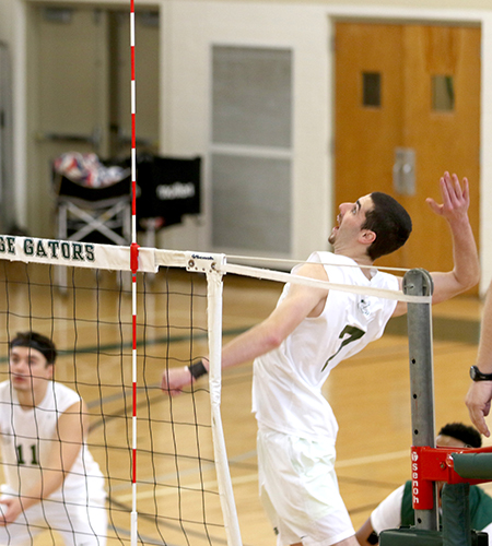 Men's Volleyball Sweeps in Home Opener