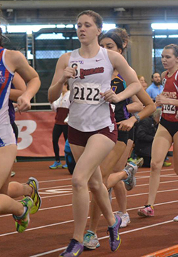 Lambert Wins Twice to Lead Women's Track & Field on Second Day of Elm City Challenge