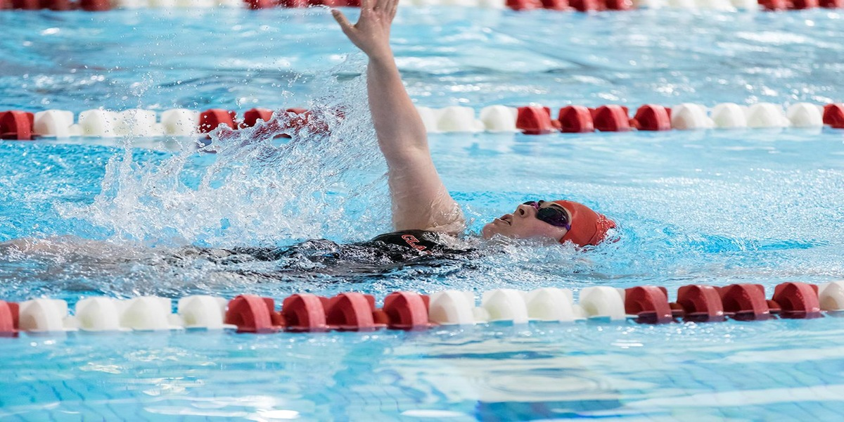 Swimming and Diving Teams Fall to Trinity at Home