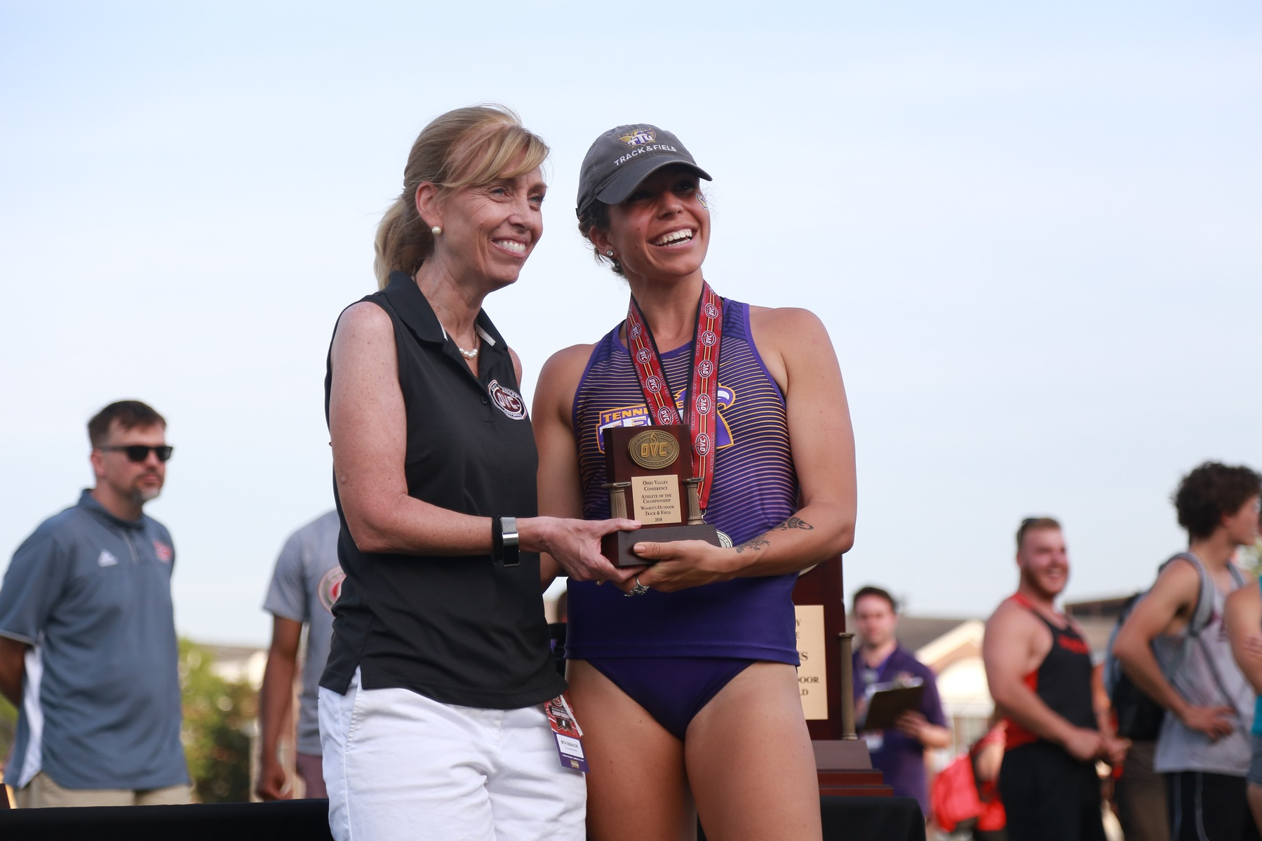 Rennick completes historic sweep with outdoor Athlete of the Championship honor
