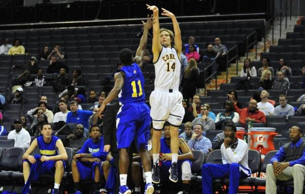 Morris Scores Career High 37 as Coker Tops FMU 95-76
