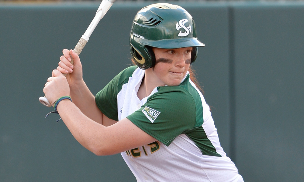 SOFTBALL BEATS DEPAUL, 9-2; HAS GAME HALTED AT LOYOLA MARYMOUNT WITH 4-1 LEAD