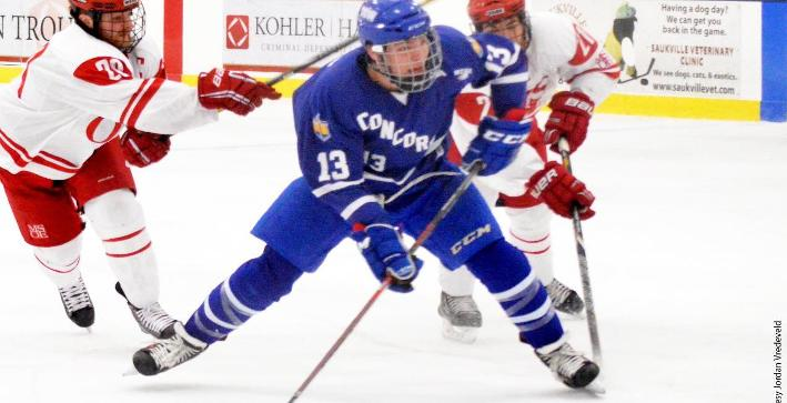 Men's Hockey season ends in Harris Cup Playoff Quarterfinals