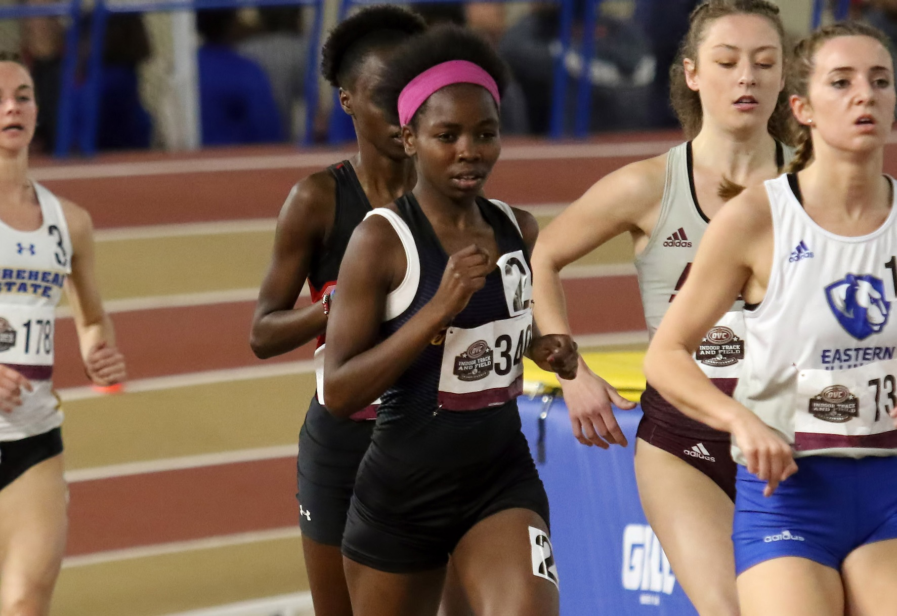 Chepkemboi scores first TTU points; Sanga, Roberts, Tate advance out of prelims to begin OVC Championships