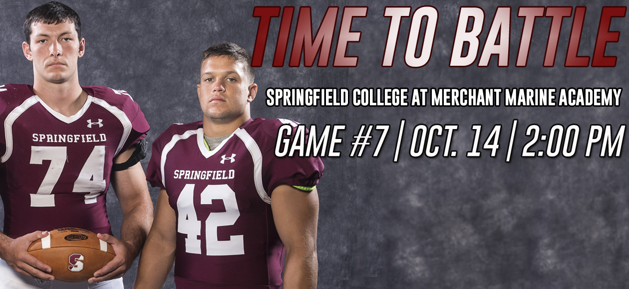 Football Headed To Long Island For NEWMAC Clash At Merchant Marine