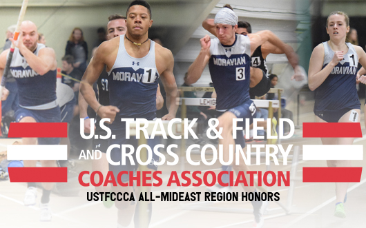 Scott Goodwin, Justin Beasley-Turner, John Spirk and Carly Danoski earn USTFCCCA Indoor All-Mideast Region honors.