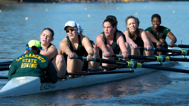 ROWING TAKES HOME THREE MEDALS AT THE PACIFIC COAST ROWING CHAMPIONSHIPS