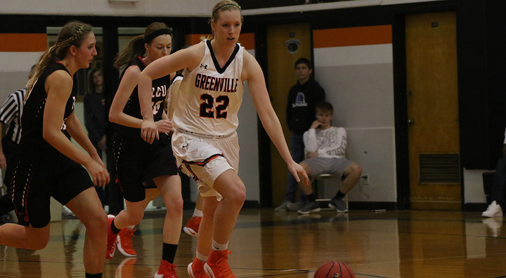 Women's basketball routs Lincoln Christian