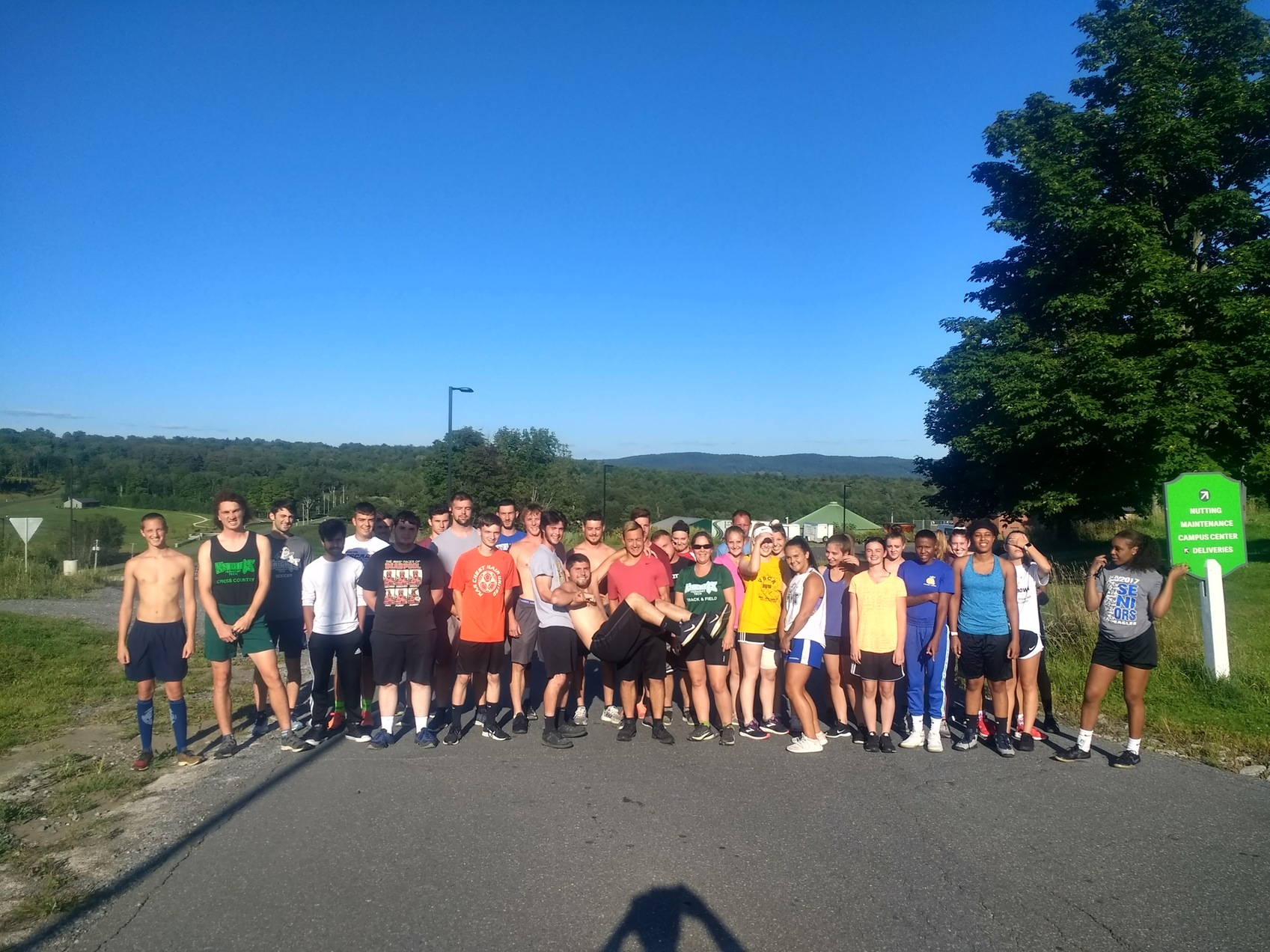 Annual Mile run a sucess