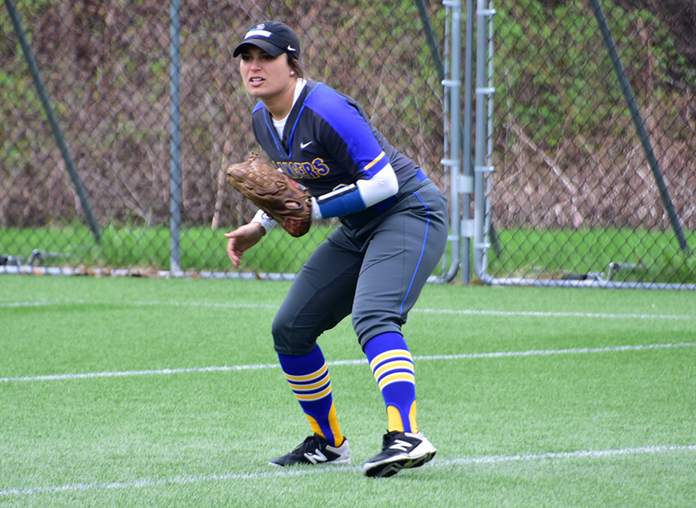 Softball Falls to Framingham in Opening Game of Double Elimination Play