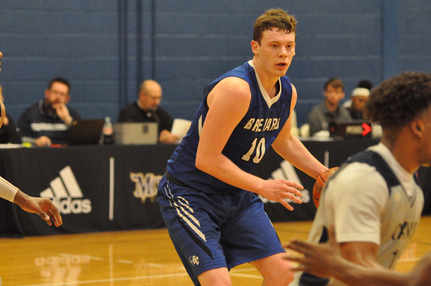 Cannon Lamb Records Career-High 19 Points, Tornados Fall to Scots on the Road