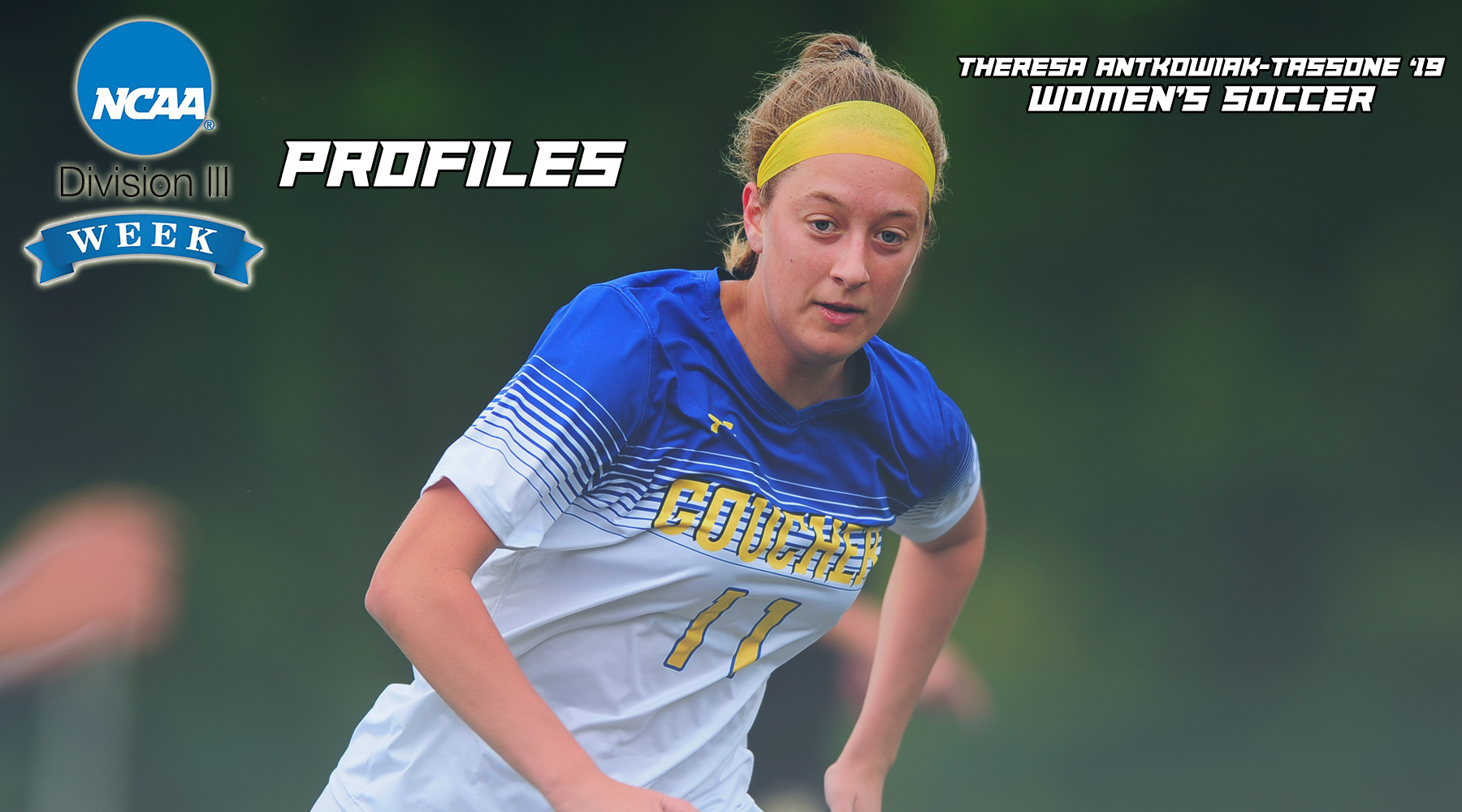 NCAA Division III Week Profiles: Women's Soccer's Theresa Antkowiak-Tassone
