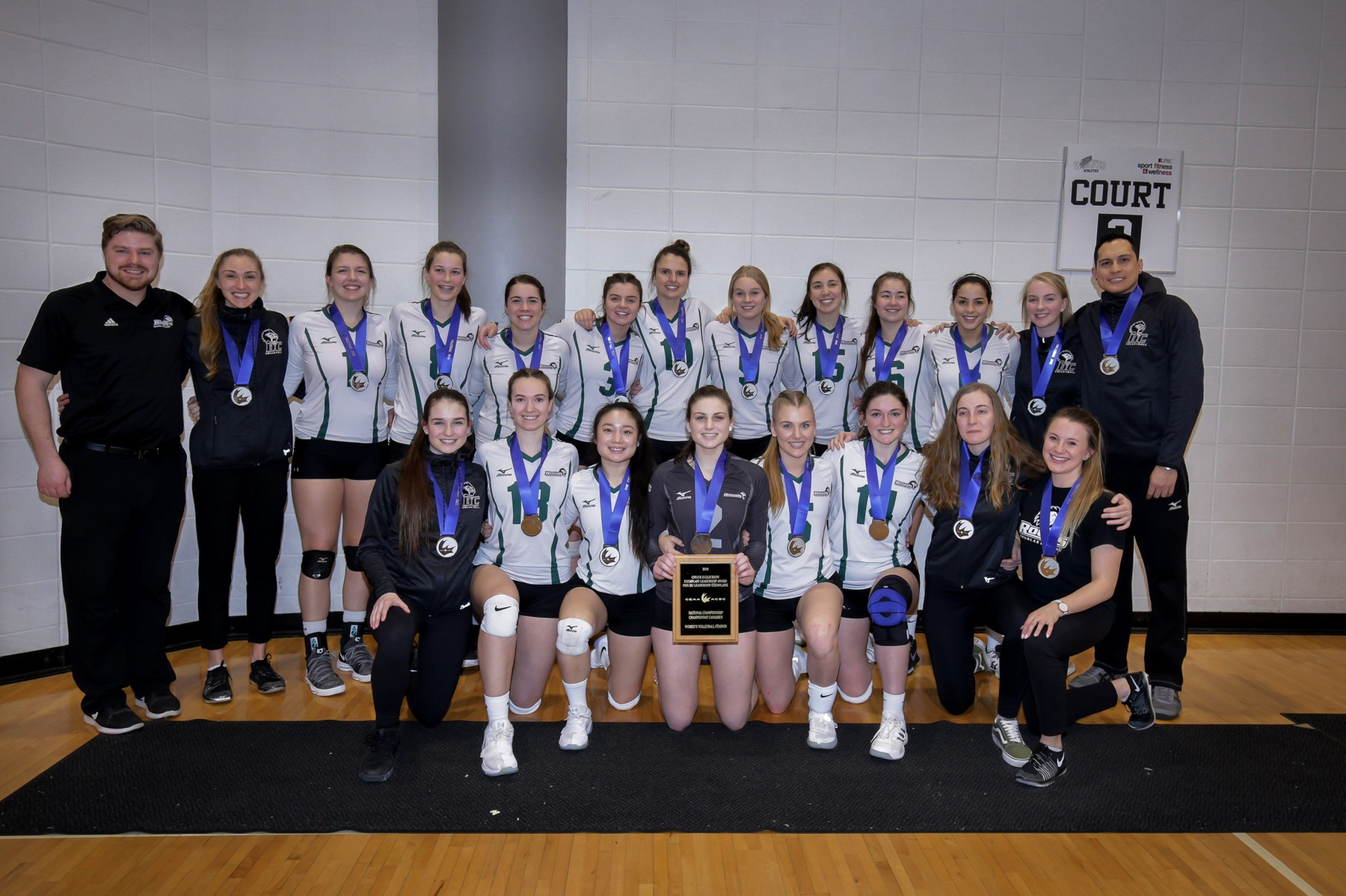 Women's Volleyball Capture Silver at Nationals