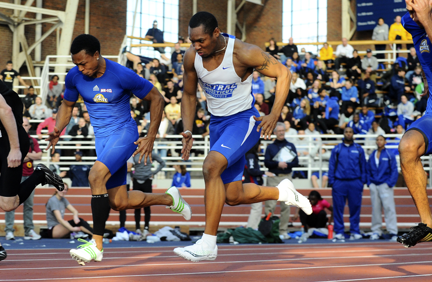 Men's Track & Field Tie For 3rd at NEC's