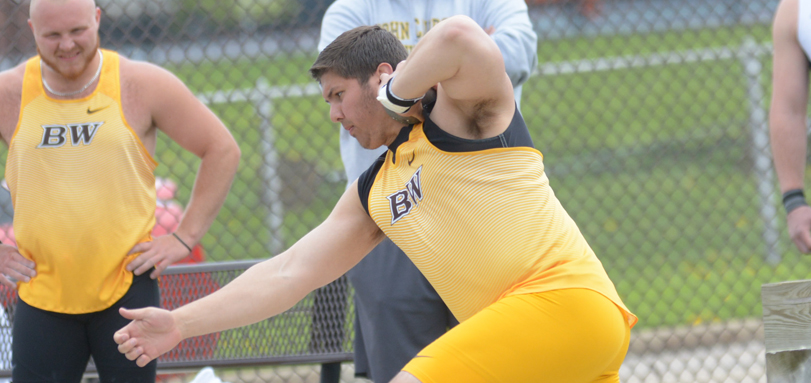Sophomore All-OAC thrower Ted Achladis won the discus throw and the shot put