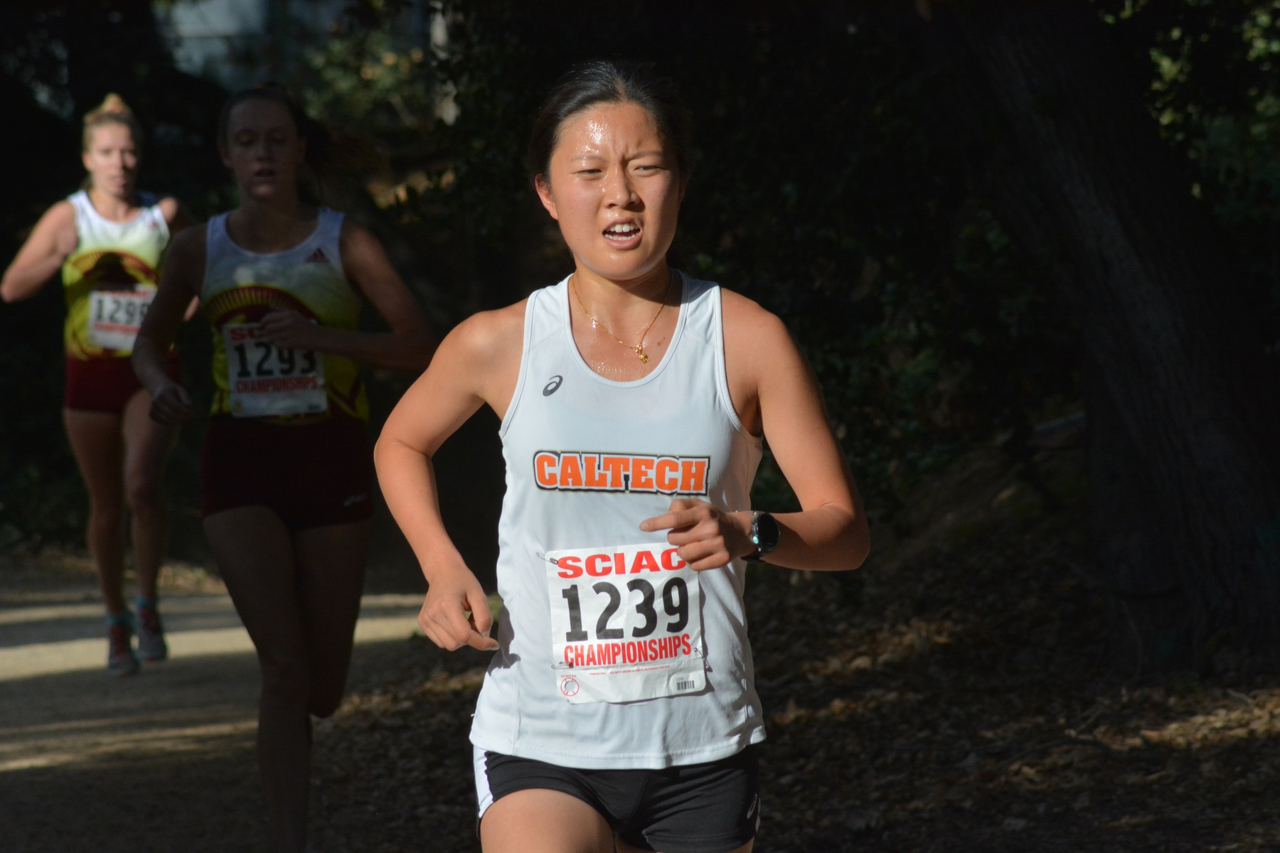 Women's XC Wows with Record-Setting Day at SCIAC Championships