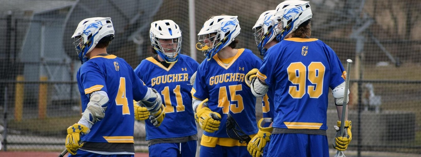 Harnish's Offensive Display And Good Defense Leads Goucher Men's Lacrosse Past Delaware Valley, 13-8