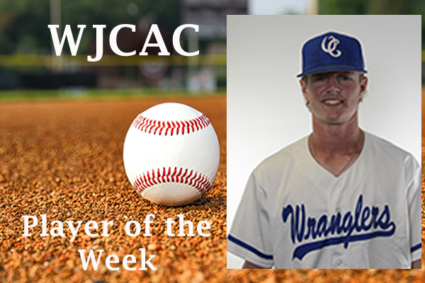 WJCAC Baseball Player of the Week (April 22-28)