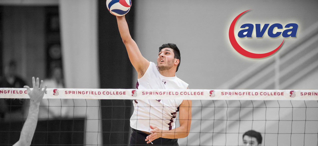Vega Honored As Sports Imports/AVCA Men's Division III National Player of the Week