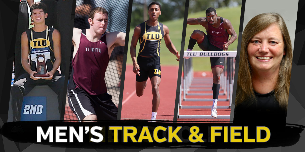 Texas Lutheran's Brown, Trinity's Hall and Love Highlight 2018 Men's Track and Field Postseason Awards