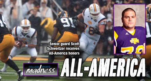 Scott Schweitzer named to FCS All-America team by College Sports Madness