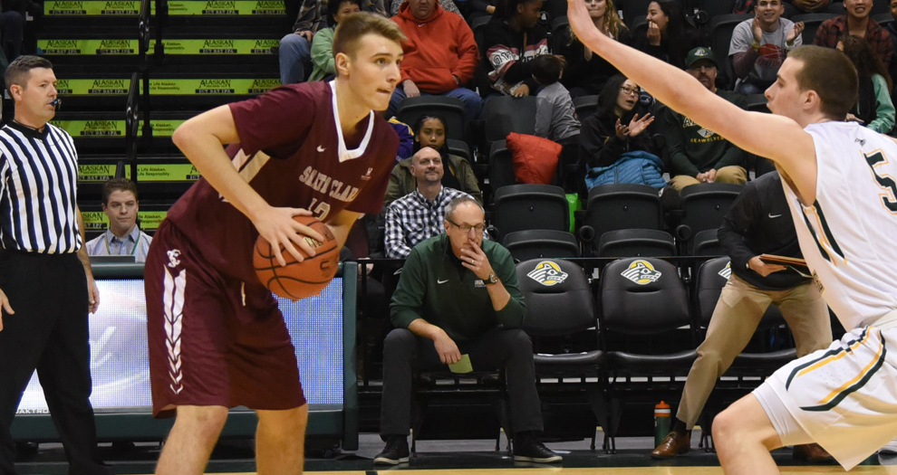 Men's Basketball Closes Out Play in GCI Great Alaska Shootout on Saturday