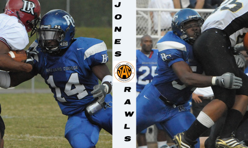 Jones and Rawls both received All-SAC honors.