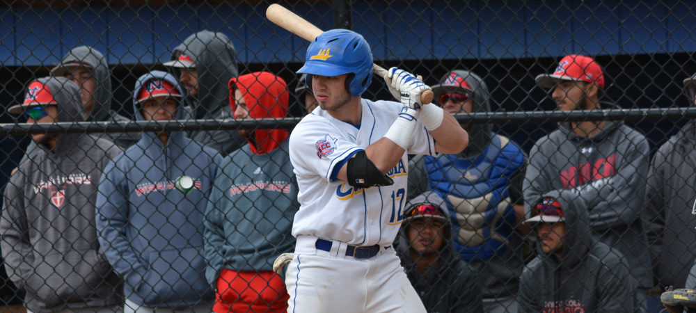 Baseball Swept In Doubleheader Against Stonehill