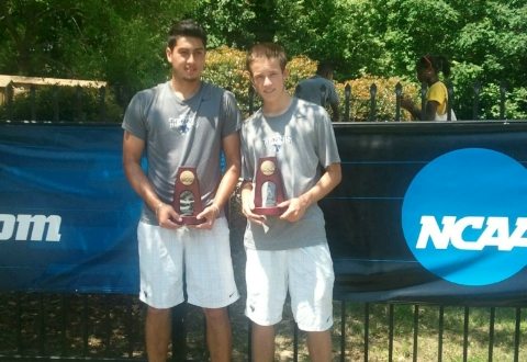 UMW's Rizzolo, Charles Fall in NCAA Doubles Semis