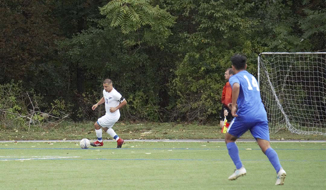 Falcons Fall to Bates 5-0