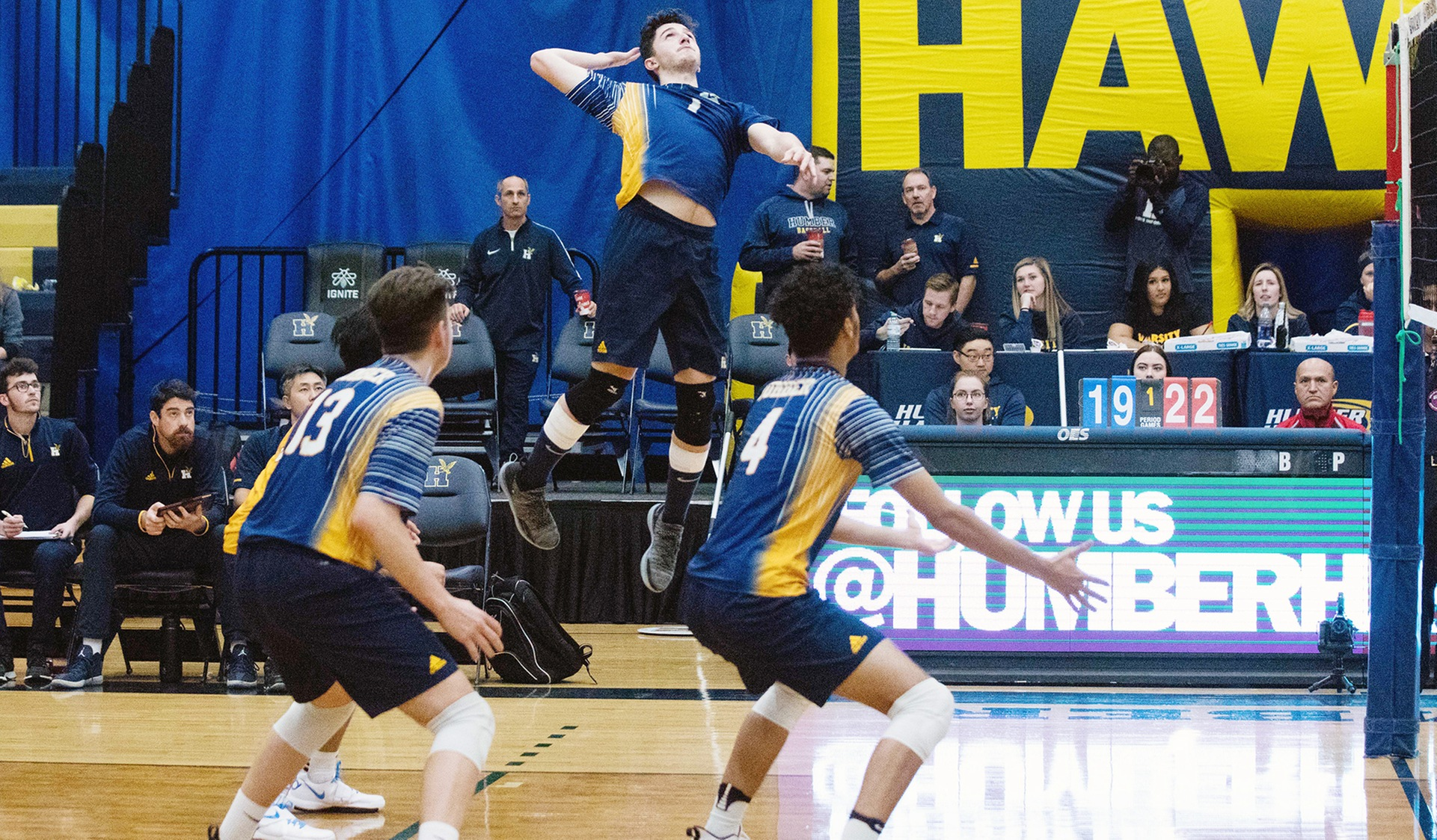 HAWKS LOOK TO REBOUND QUICKLY AFTER DROPPING FIRST MATCH OF THE YEAR