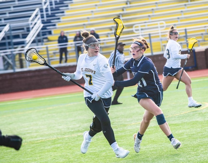 Women's Lacrosse Downed by USMMA