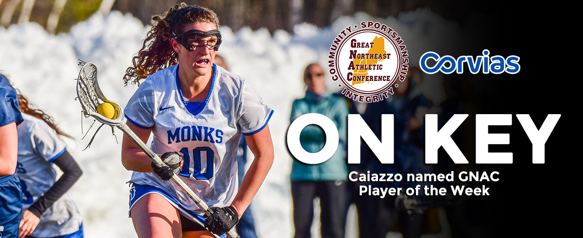 Caiazzo Picked as GNAC Player of the Week