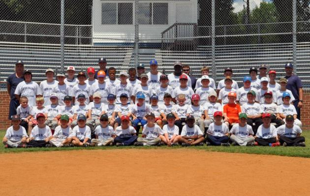 Coker Summer Baseball Camp Photos
