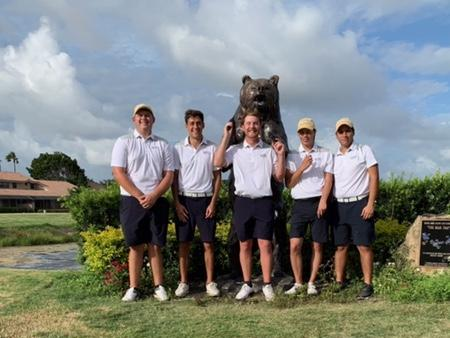 Golf Finishes 16th at Opening Event